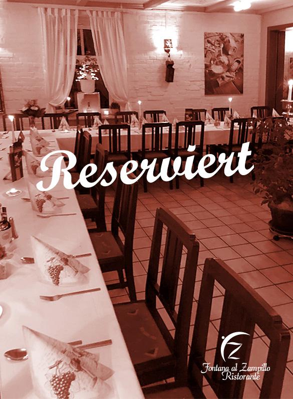 Reservierungen italienisches Restaurant in Friedland Fontana al Zampillo